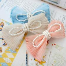 Women Jewelry Korean Style Bowknot Lace Hairclip Hair Accessory Hairpin Barrette
