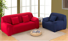 Soft Micro Suede Slipcover Stretch Couch Furniture Sofa Loveseat Chair Cover