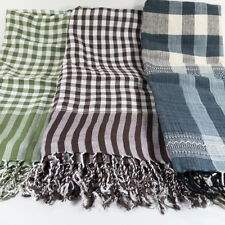 LOINCLOTH SCARF BANDANA SHAWL HAND WOVEN FIMBRIA CLOTH THAI TRADITIONAL PAKAMAR
