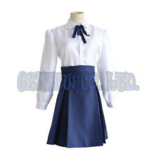 Anime Fate stay night saber women Dress Cosplay Costume halloween Lolita outfit