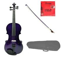 """New Student Purple Viola,Bow+Case+2 Sets Strings+Rosin 16""""15""""14""""13""""12""""11""""10"""""""