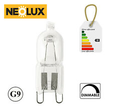 NEOLUX OSRAM Halogen Lamp G9 33W 2700k Dimmable Bulb Base 230V Clear 2000h