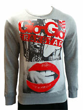 Mens / Unisex Gio-Goi 'Radio Edit' Long Sleeve Track Tops Fleece Sizes S-L