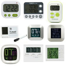 Magnetic LCD Digital Salter Kitchen Timer Count Up Down Egg Cooking Alarm Clock