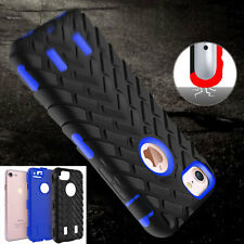 Rugged Rubber Shockproof Silicone Protective Hard Case Cover for iPhone6s 7/Plus