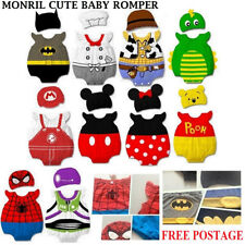 New Romper Set size 3-12 months Baby Boy Girl Animal Costume Bodysuit Outfit