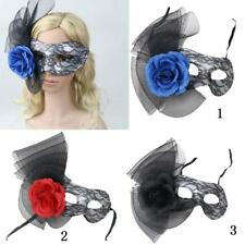 Elegant Venetian Party Face Eye Mask Lace Flower Masquerade Carnival Fancy Dress