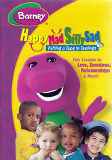 BARNEY - HAPPY MAD SILLY SAD - PUTTING A FACE TO FEELINGS (MAPLE) (REGION 1 DVD)