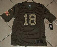 Nike Manning Denver Broncos Salute To Service Football Jersey, 659309, US Size M