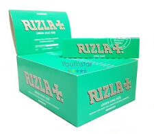 Rizla Green King Size Cigarette Smoking Rolling Paper - Genuine