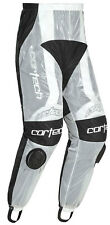 CORTECH Road Race Rain Pants for Motorcycle Track Suit (Clear) Choose Size