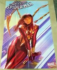 Amazing Spider-Man 15 Mary Jane Iron Spider Suit POSTER FOLDED IN 16ths