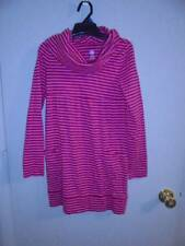 GIRLS J. KHAKI DRESS FALL WINTER RED STRIPED GREAT FOR HOLIDAYS