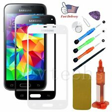 Replacement Front Outer Screen Glass Lens/Tools/Glue for Samsung Galaxy S5 AT&T