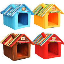 Soft Warm Pet House Bed Kennel Luxury Tent for Small-Medium Dog Cat Indoor Cozy