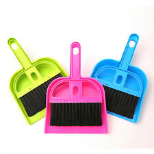 Sweep Keyboard Brush with Dustpan Fingerboard Broom Brush Set Cleaning Tools