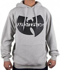 Wu-Wear Wu-Tang Clan Wu Tang App Grey Hoody Hoodie Sweater Mens New Men's