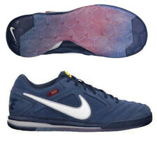 NIKE NIKE5 GATO ESPECIAL (FC BARCELONA) INDOOR SOCCER SHOES Midnight Navy/White