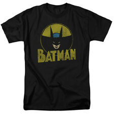 Batman DC Comics Superhero Distressed Comic Circle Adult T-Shirt Tee