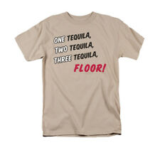 One Tequila, Two Tequila, Three Tequila, Floor! Funny Saying Adult T-Shirt