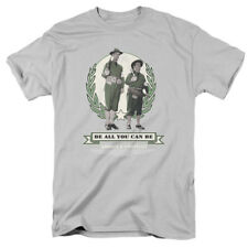 Abbott And Costello Comedy Duo Be All You Can Be TV Movie Adult T-Shirt Tee