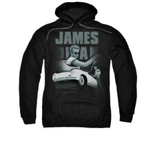 James Dean Icon Movie Actor Immortality Quote Adult Pull-Over Hoodie
