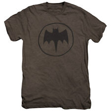 Batman DC Comics Superhero Hand-Done Bat Logo Adult PT T-Shirt Tee