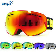 Copozz Kids Skiing Children Snowboard Goggles Double Lens UV400 Anti-fog Protect
