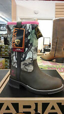 Ariat 1001624 Women's Fatbaby All Weather Western Camo Boots Neoprene Waterproof