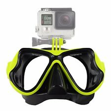 Diving Mask Camera Mount Scuba Snorkel Swimming Accessory Goggles