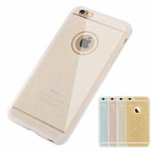 Matte Crystal Silicone Glitter TPU Thin Case Cover Skin For iPhone 6 6s Plus Cap