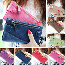 Fashion Women Lady Long Card Holder Wallet Purse Long Handbag Bifold Clutch Case