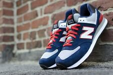 New Balance 574 Classic Running Sneakers New, Blue / Red ML574CPM sz 13