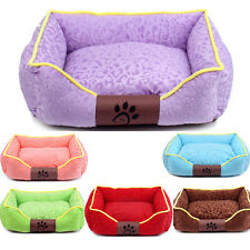 Dog Bed Large Medium Small Cat Pet Puppy Bed House Soft Warm Kennel S/M/L/XL