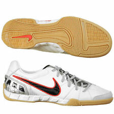 NIKE T90 SHOOT III L-IC INDOOR SOCCER FUTSAL SHOES Summit White/ Black-Metallic