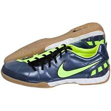 NIKE T90 SHOOT III IC INDOOR SOCCER FUTSAL SHOES Blue Dusk/Volt.