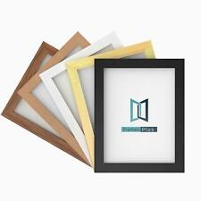 MODERN WIDE FLAT PHOTO PICTURE FRAME POSTER FRAMES LARGE 5 COLOUR ALL SIZES
