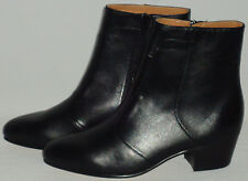 Mens Black Smooth Leather Ankle Boots Nice Cuban Heel Giorgio Brutini 805751
