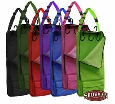 Showman Zippered Cordura Nylon 5 Hook Tack Carrier with Separate Storage