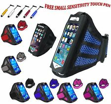 """Universal Sports Running Jogging Gym Armband Holder Cover For All Phones 5.5"""" UK"""