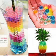 10bags Jelly Beads Water Plant Flower Crystal Soil Mud Water Pearls Gel Balls CN