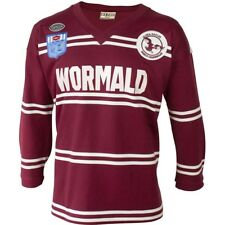 Manly Sea Eagles NRL Jersey Retro 1987 Heritage Guernsey BNWT Mens Shirt