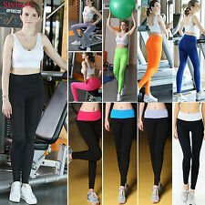 Womens Casual Fashion Cotton Leggings Soft Skinny Fit Stretch Yoga Trousers Pant