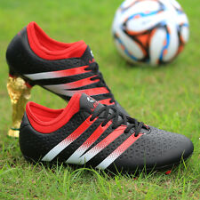 NEW Men Soccer Shoes AG Outdoor Soccer Cleats Football Shoes Sports Sneakers