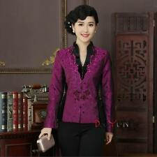 2016 new fashion Chinese Women's silk jacket /coat Cheongsam Sz: M L XL 2XL 3XL