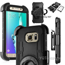 Shockproof Rugged Rubber Hybrid Hard Clip Case Cover For Samsung Galaxy LG Phone