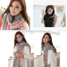 Women Pretty Long Soft Chiffon Scarf Wrap Shawl Stole Scarves Hot