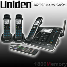 Uniden XDECT 8355 8315 8305 Cordless Long Range DECT Phone Handset Bluetooth USB