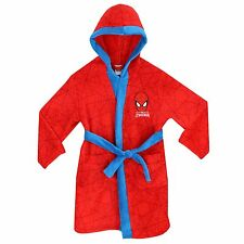 Spiderman Dressing Gown | Boys Spider-Man Robe | Spiderman Bath Robe | NEW
