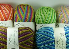 West Yorkshire Spinners Signature 4ply British Sock Yarn 100g COCKTAILS